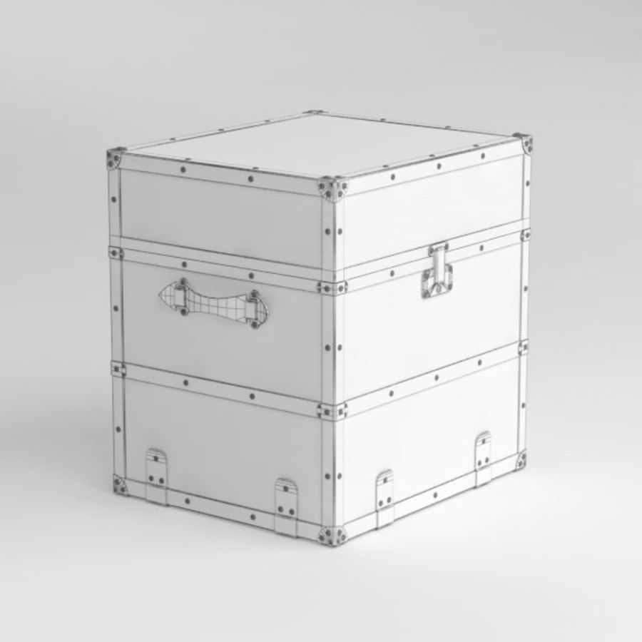 Trunk royalty-free 3d model - Preview no. 8