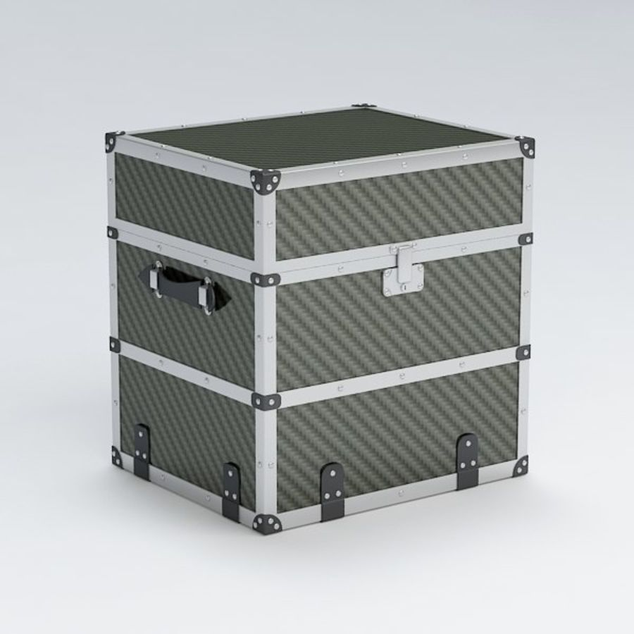 Trunk royalty-free 3d model - Preview no. 2
