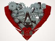 heart mechanic 3d model