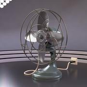Ventilador elétrico vintage 3d model