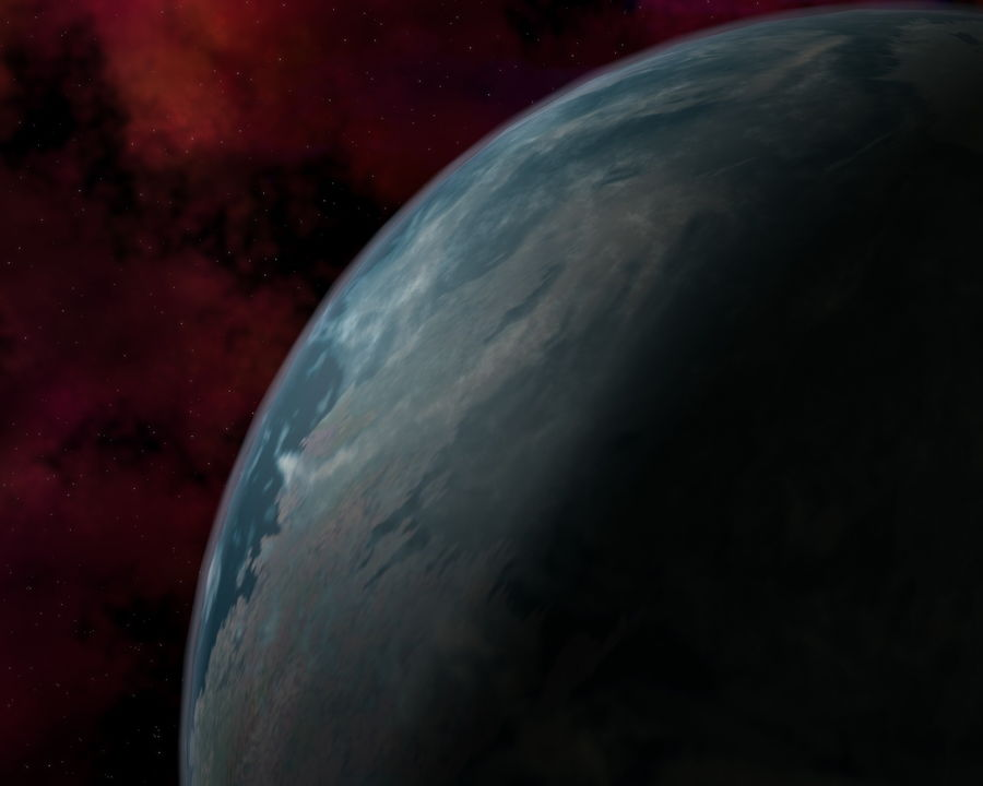 Solar System royalty-free 3d model - Preview no. 1