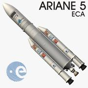 Ariane 5 ECA 3d model