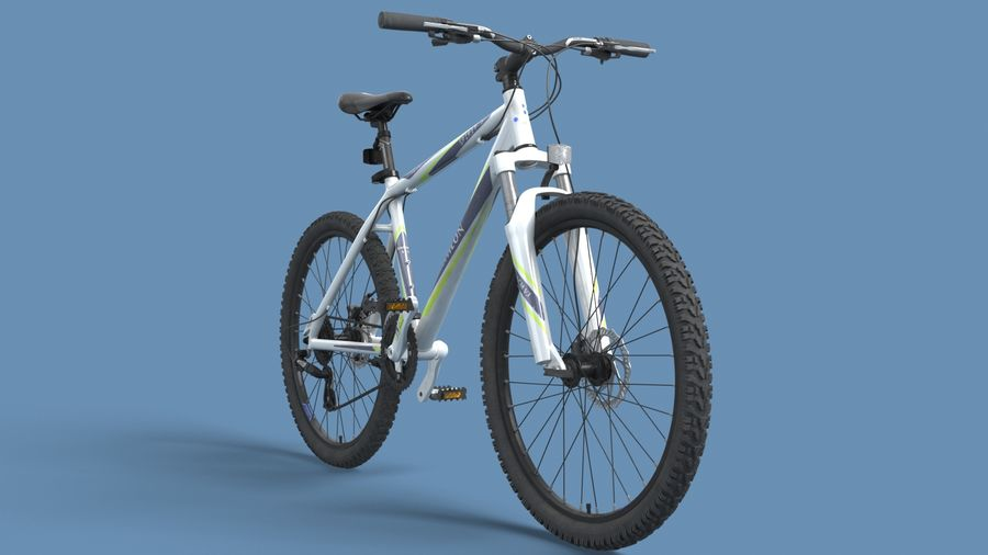 Mountainbike royalty-free 3d model - Preview no. 27