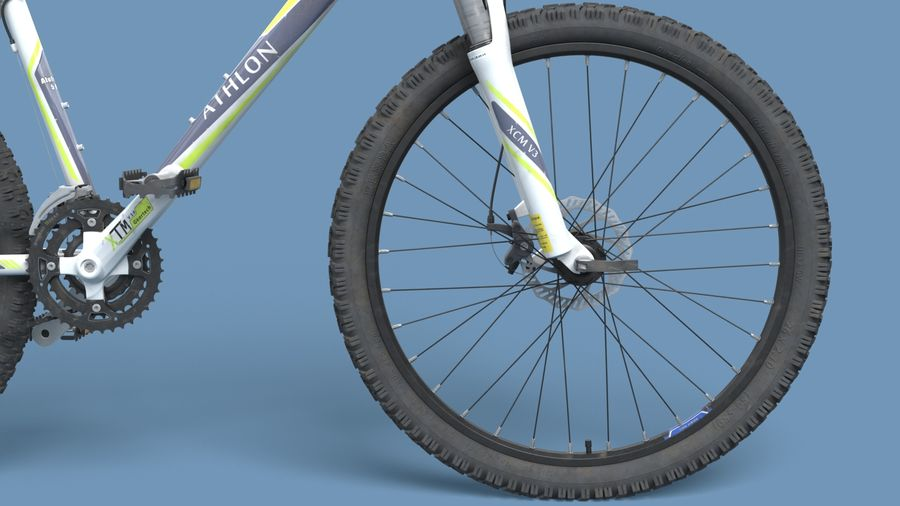 Mountainbike royalty-free 3d model - Preview no. 14
