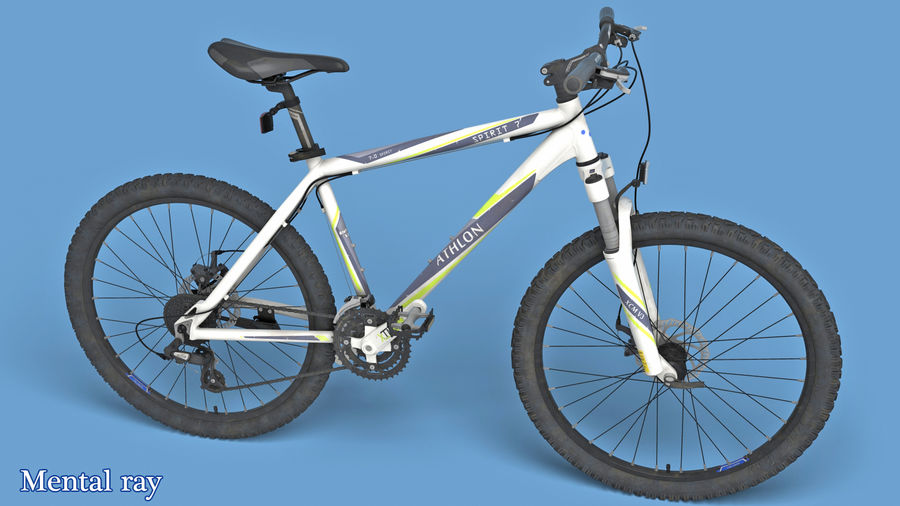 Mountainbike royalty-free 3d model - Preview no. 12