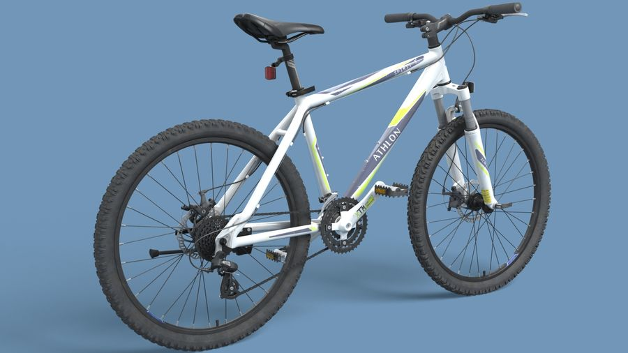 Mountainbike royalty-free 3d model - Preview no. 15