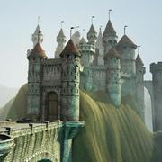 Castle game model 3d model
