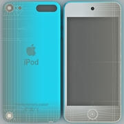 Ipod Touch Generation 5th Blue 3d model