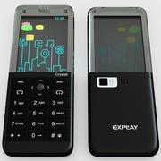 Explay Crystal Black 3d model
