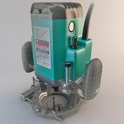 Roteador de mergulho Makita 3612CX 3d model