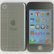 Apple iPod touch 16GB 4ª geração 3d model
