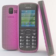 노키아 110 핑크 3d model