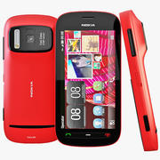Nokia 808 PureView Red 3d model