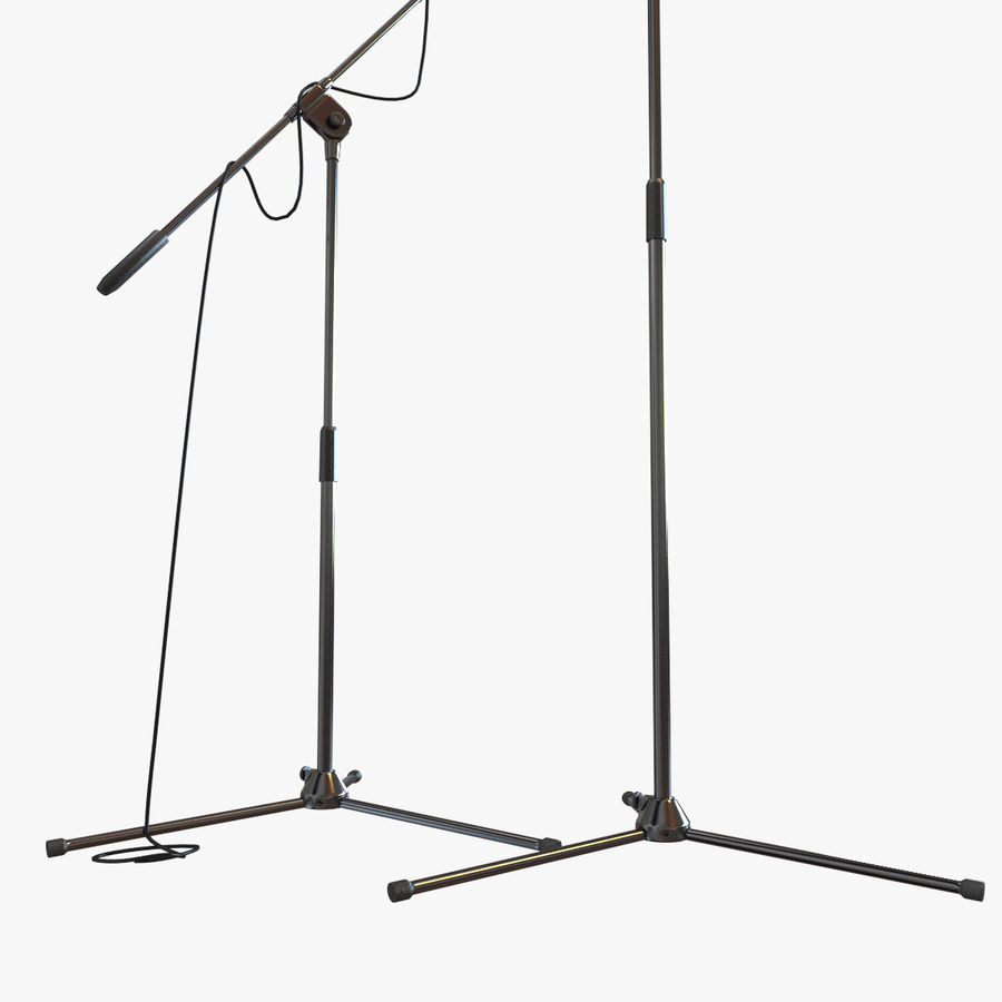Shure SM58 Microphones royalty-free 3d model - Preview no. 18