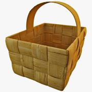 Wooden Basket 2 3d model