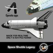 Space Shuttle Legacy 3d model
