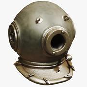 Scuba Helmet 3d model