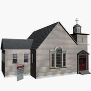 Kaplica 3d model