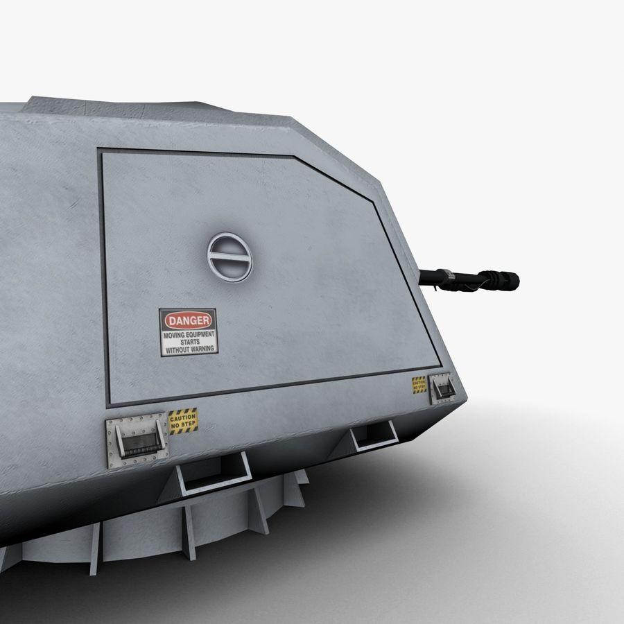 デネル35mmデュアルパーパスガン royalty-free 3d model - Preview no. 11