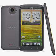 HTC One X Black 3d model