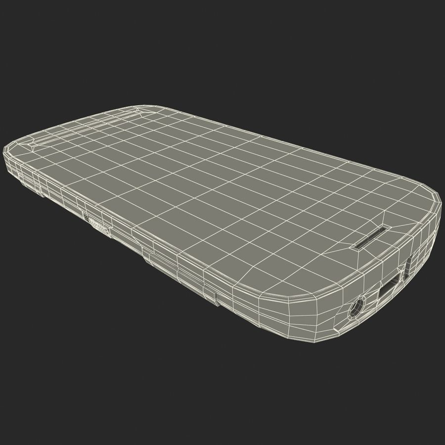Nokia 808 PureView White royalty-free 3d model - Preview no. 29