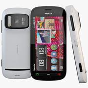 Nokia 808 PureView White 3d model