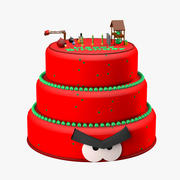Angry Birds Cake 3d model