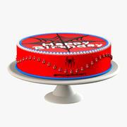 Torta Uomo Ragno 3d model