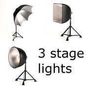 lumières de la scène 3d model