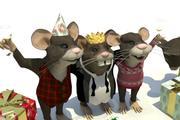 マウス 3d model