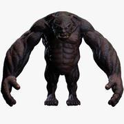 Monsters 3d model