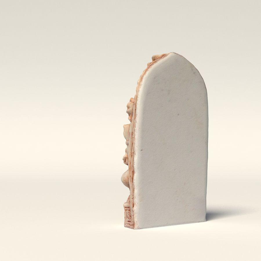Ganesha-statyett royalty-free 3d model - Preview no. 6