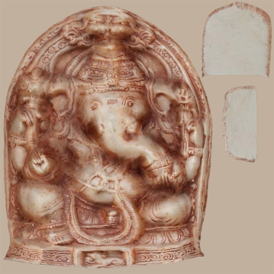 Ganesha-statyett royalty-free 3d model - Preview no. 8