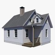 Casa de campo 3d model