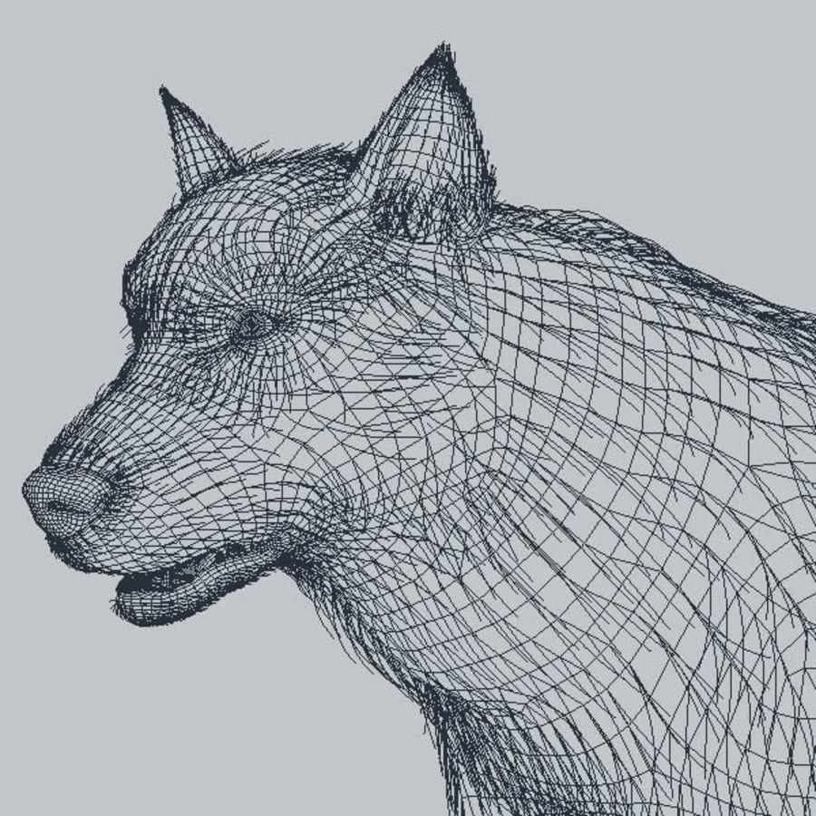 Poils De Loup royalty-free 3d model - Preview no. 8