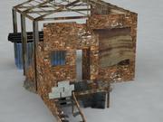 Fabric Ruin 3d model