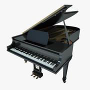 Flügel Schwarz 3d model