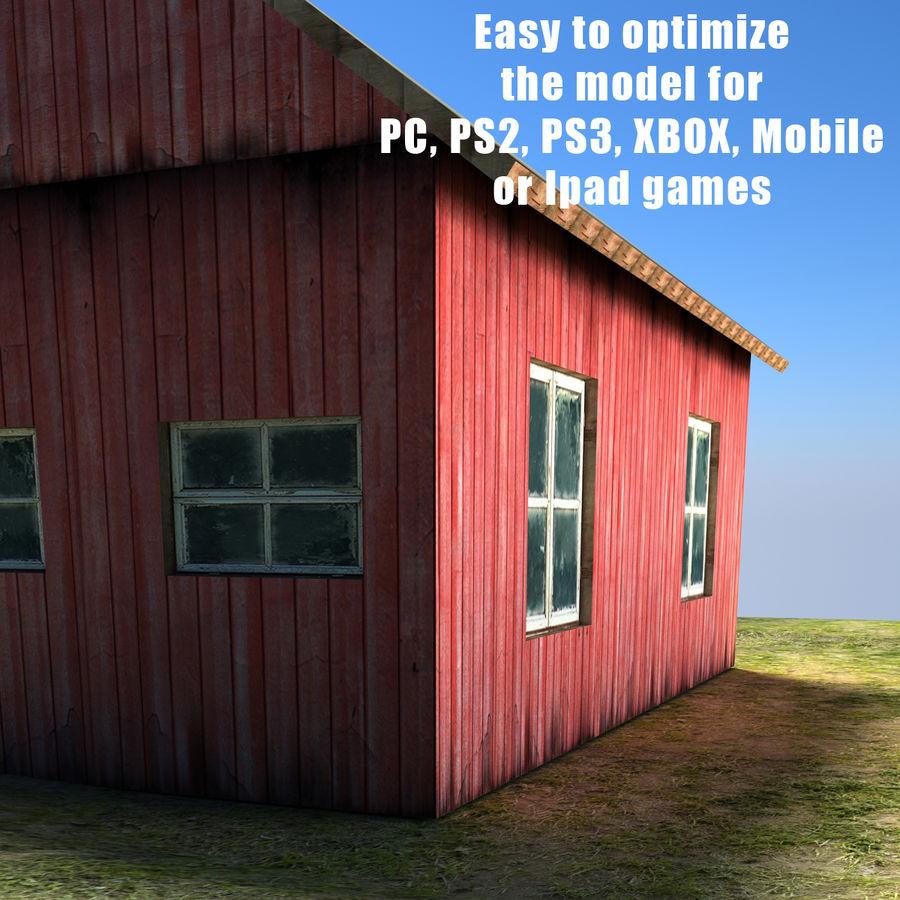 외양간 royalty-free 3d model - Preview no. 4