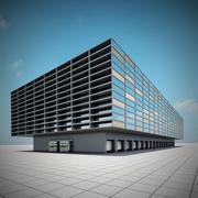 08 Binası 3d model