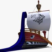 Savaş Gemisi 3d model