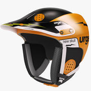 Snowboardhelm Urge Skull 3d model