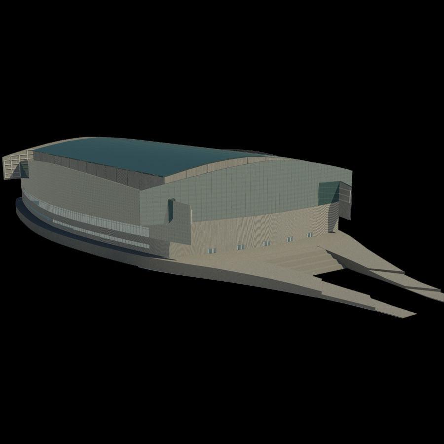 2014年ソチオリンピックスタジアム royalty-free 3d model - Preview no. 2