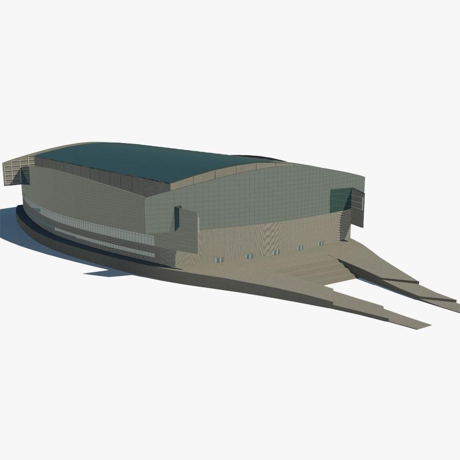 2014年ソチオリンピックスタジアム royalty-free 3d model - Preview no. 1