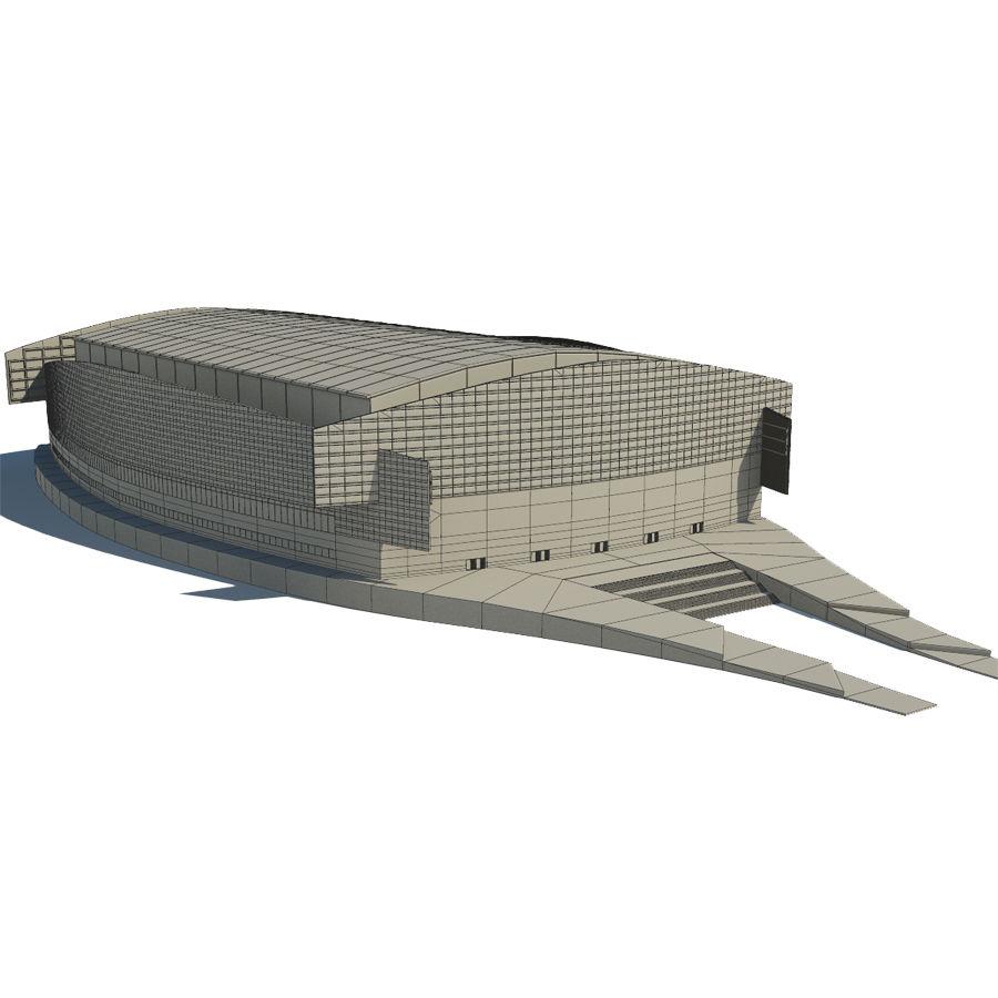 2014年ソチオリンピックスタジアム royalty-free 3d model - Preview no. 6