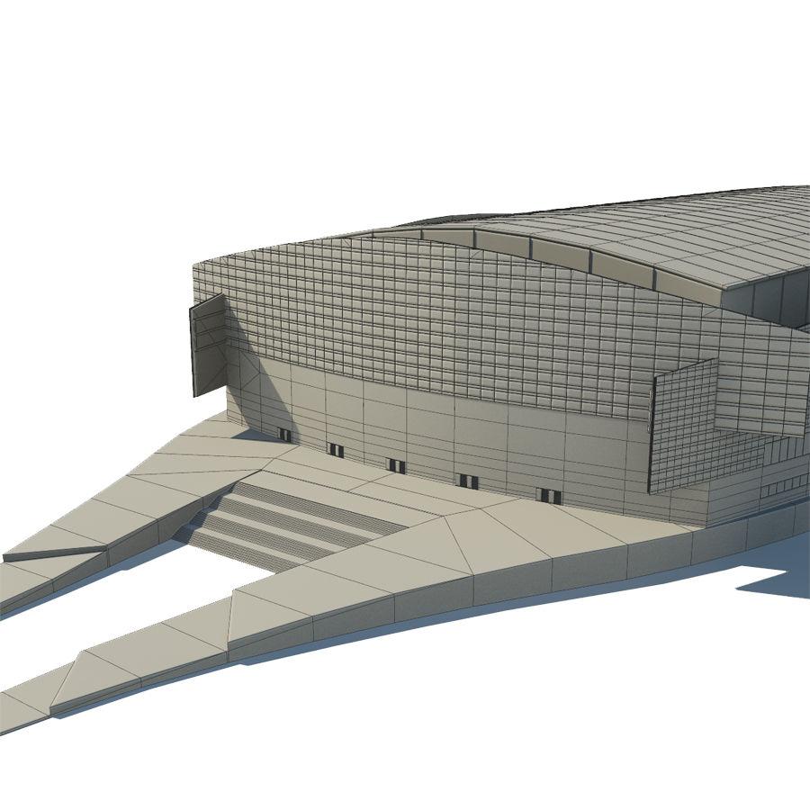 2014年ソチオリンピックスタジアム royalty-free 3d model - Preview no. 7
