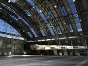 Hangar de Aeronaves 3d model