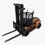 carrello elevatore a forca 3d model