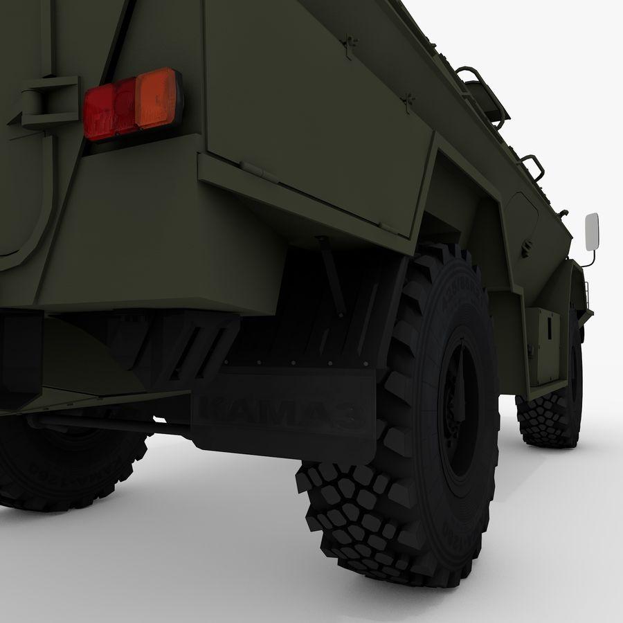 KAMAZ-43269 Dozor 2009 royalty-free 3d model - Preview no. 15