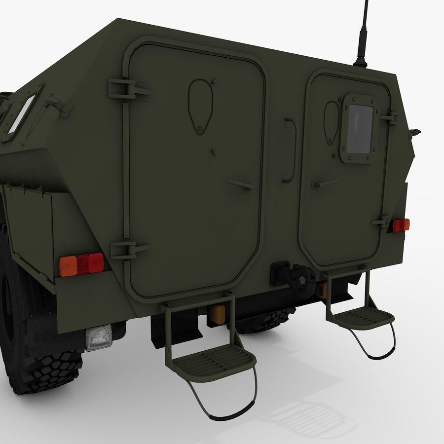 KAMAZ-43269 Dozor 2009 royalty-free 3d model - Preview no. 14