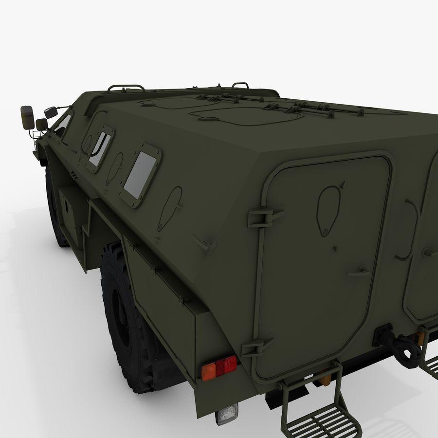 KAMAZ-43269 Dozor 2009 royalty-free 3d model - Preview no. 22
